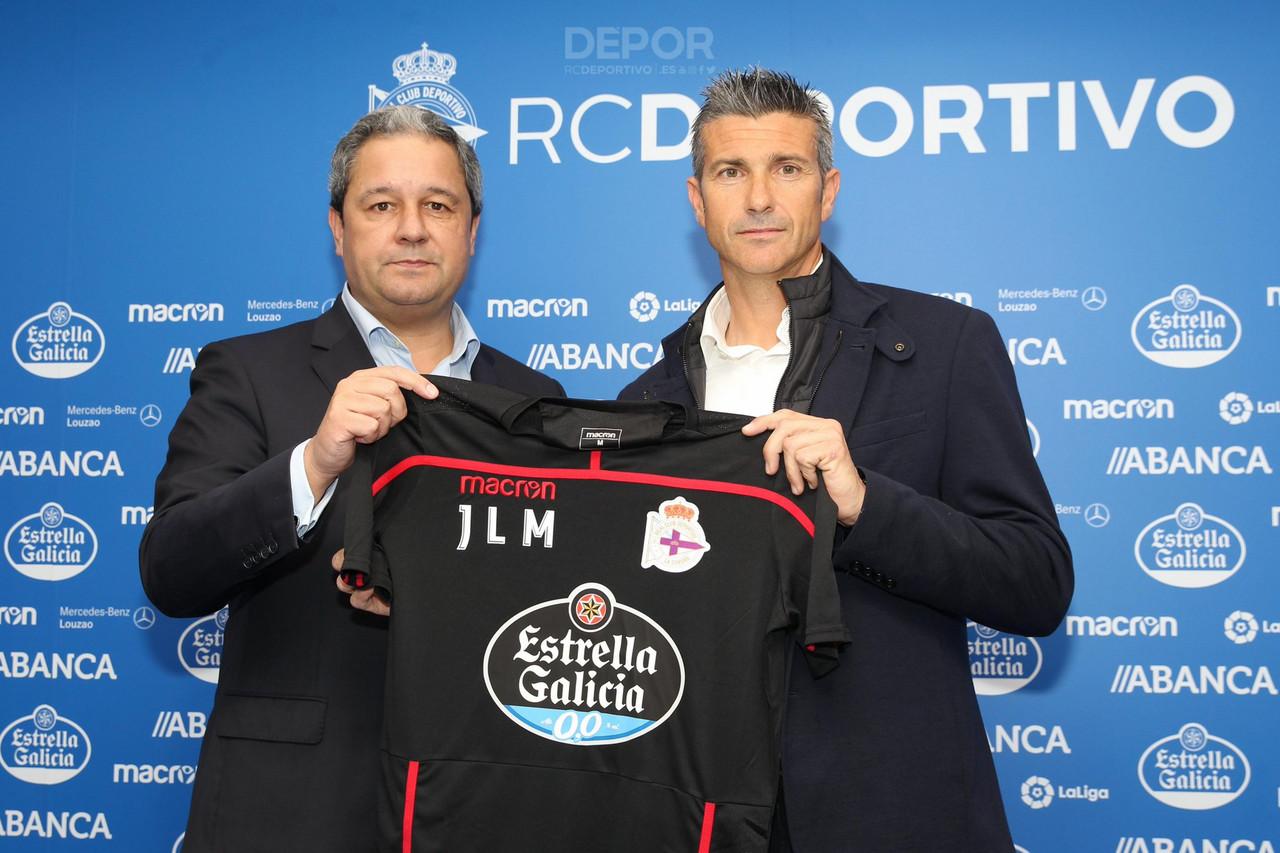 José luis Martí, nuevo entrenador del Deportivo