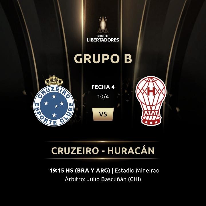 Previa Cruzeiro - Huracán: por la victoria en Brasil