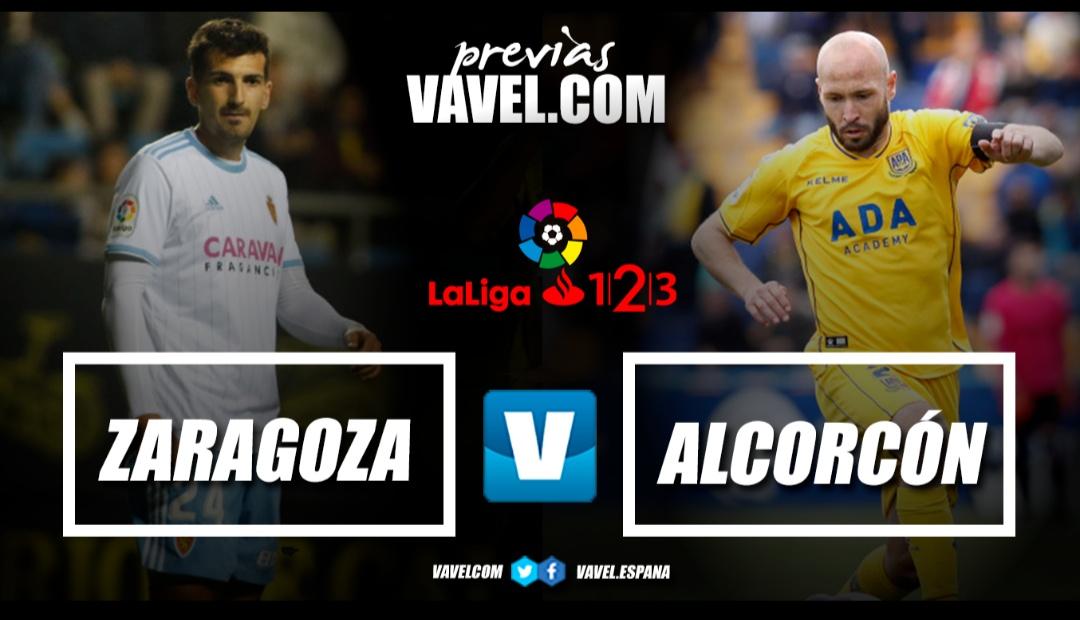 Previa Real Zaragoza - AD Alcorcón: ganar para evitar sorpresas