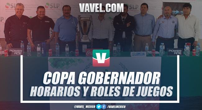 Copa Gobernador 2019: resultados y goles 17 abril