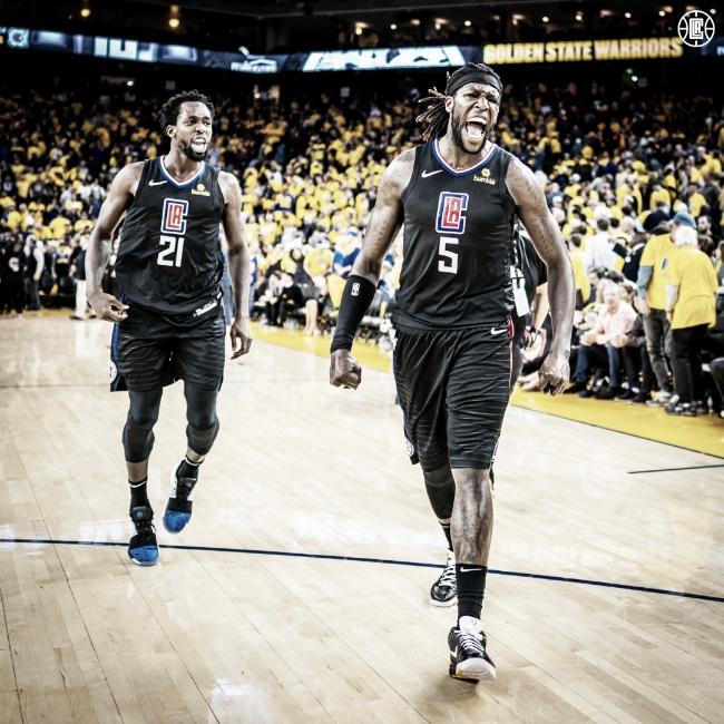 NBA: Remontada histórica de Clippers frente a Warriors