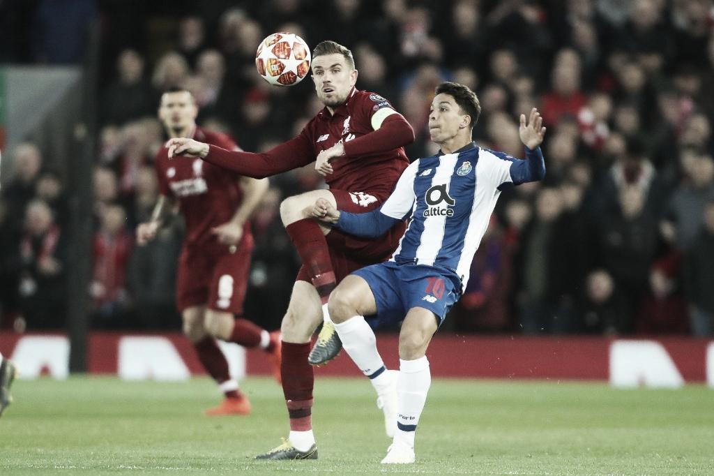 Porto recebe Liverpool buscando reverter o resultado adverso da ida para avançar na Champions