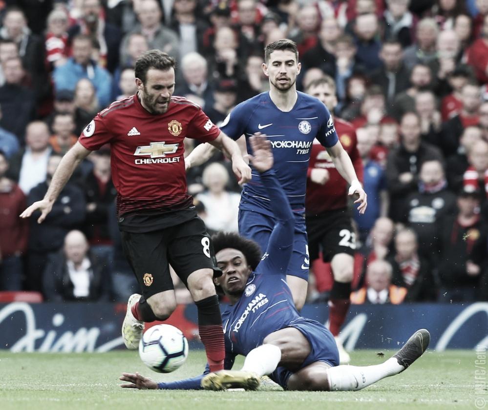 Manchester United e Chelsea ficam no empate e aumentam a pressão pela vaga na Champions
