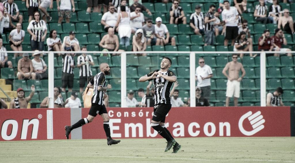 Figueirense garante empate contra São Bento no final do jogo pela Série B