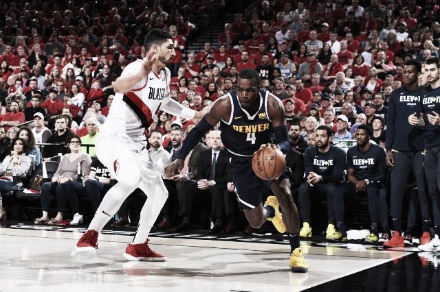 NBA: Denver ganó a domicilio y empata 2 a 2 la serie vs Blazers