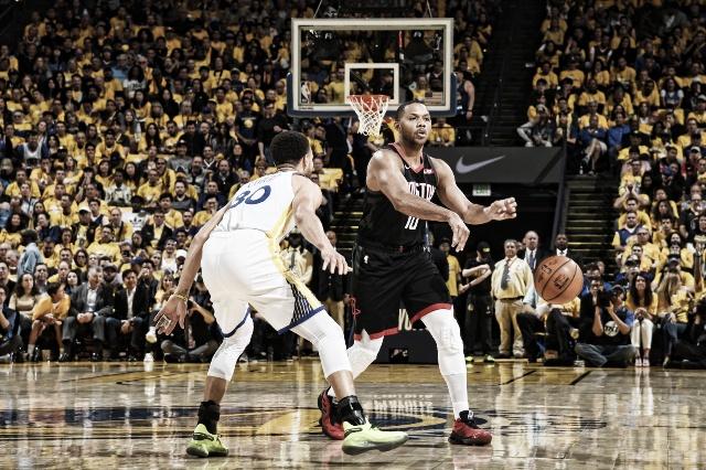 NBA: Warriors ganó y quedó a un paso de la final de conferencia