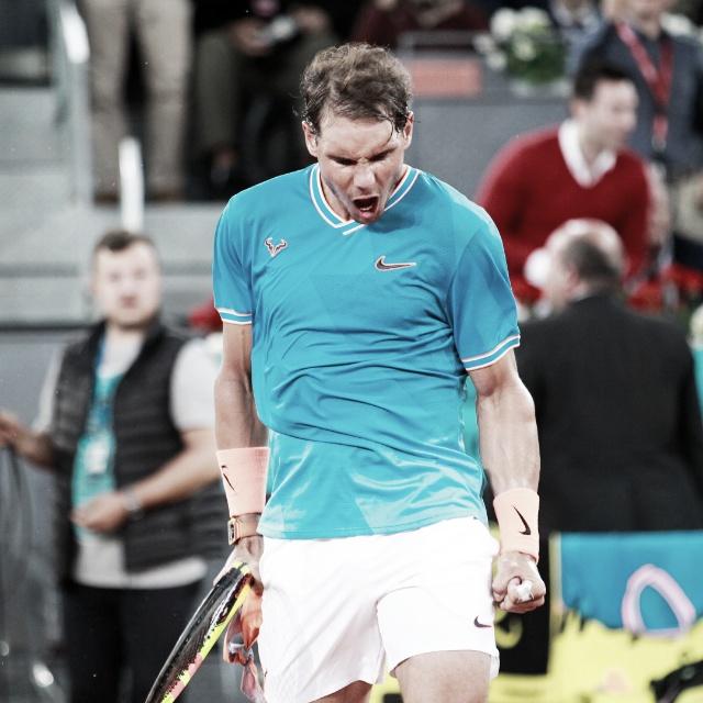 Djokovic y Nadal, a un paso de la final en Madrid