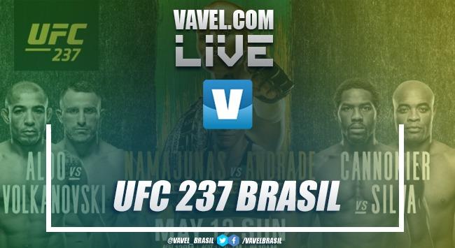 Resultado UFC Namajunas x Andrade, Jose Aldo x Volkanovski no UFC Rio 237