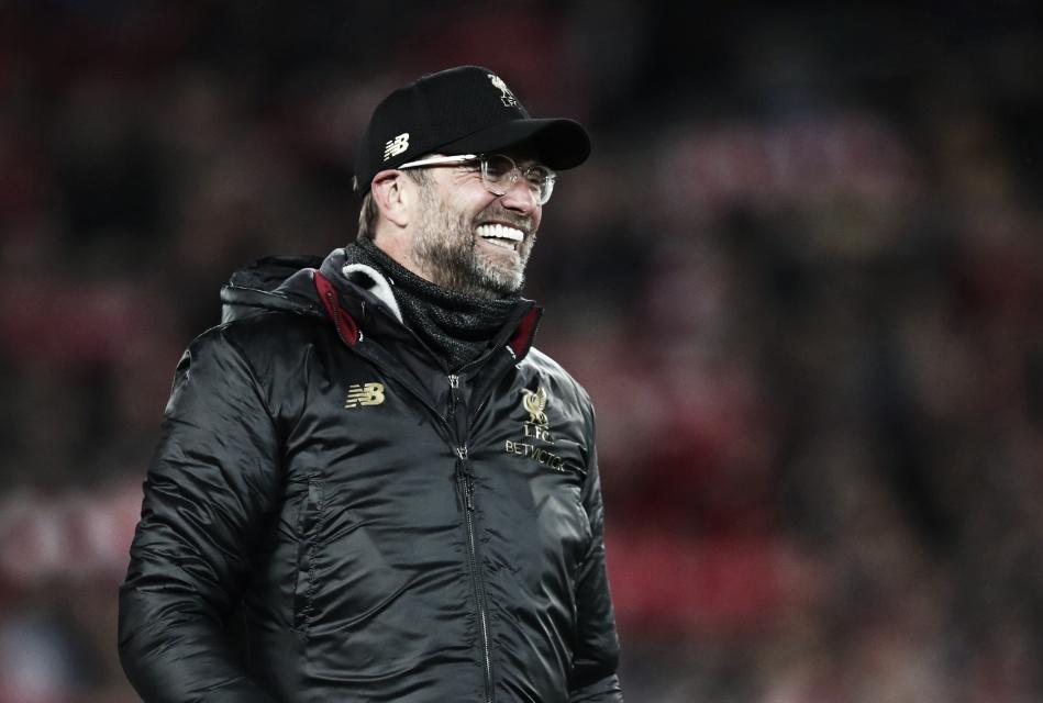 """Klopp exalta vitória do Liverpool sobre Wolverhampton: """"Jogamos e fomos ditados pela torcida"""""""