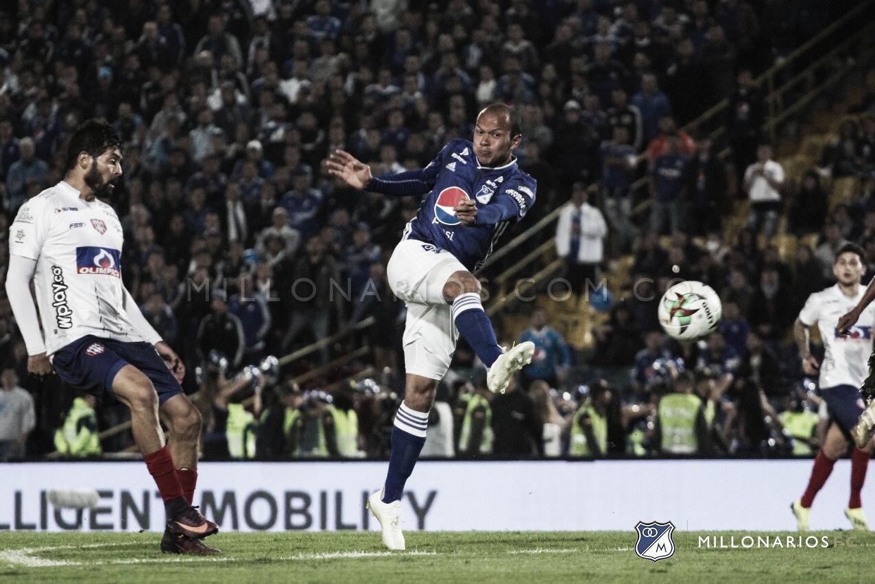 Juan David Pérez, el mejor jugador del partido entre los 'Azules' y Unión Magdalena
