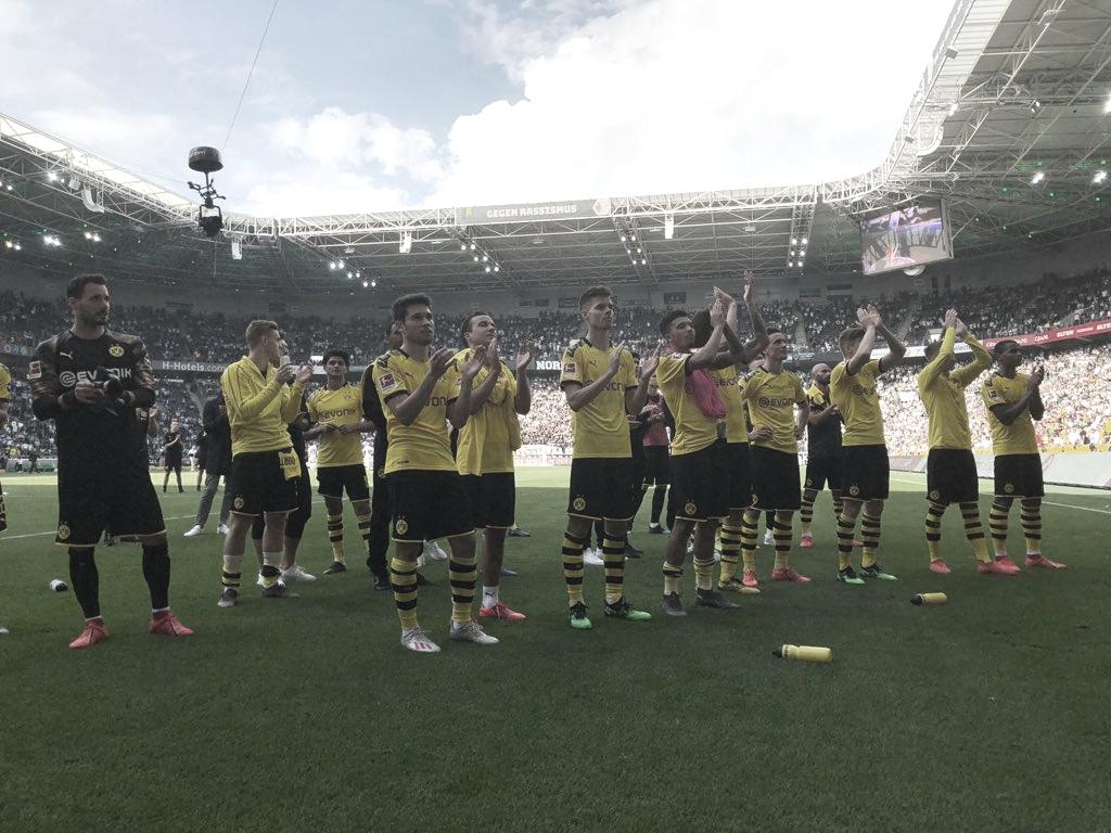 Não deu! Dortmund vence M'gladbach, mas fica com o vice da Bundesliga