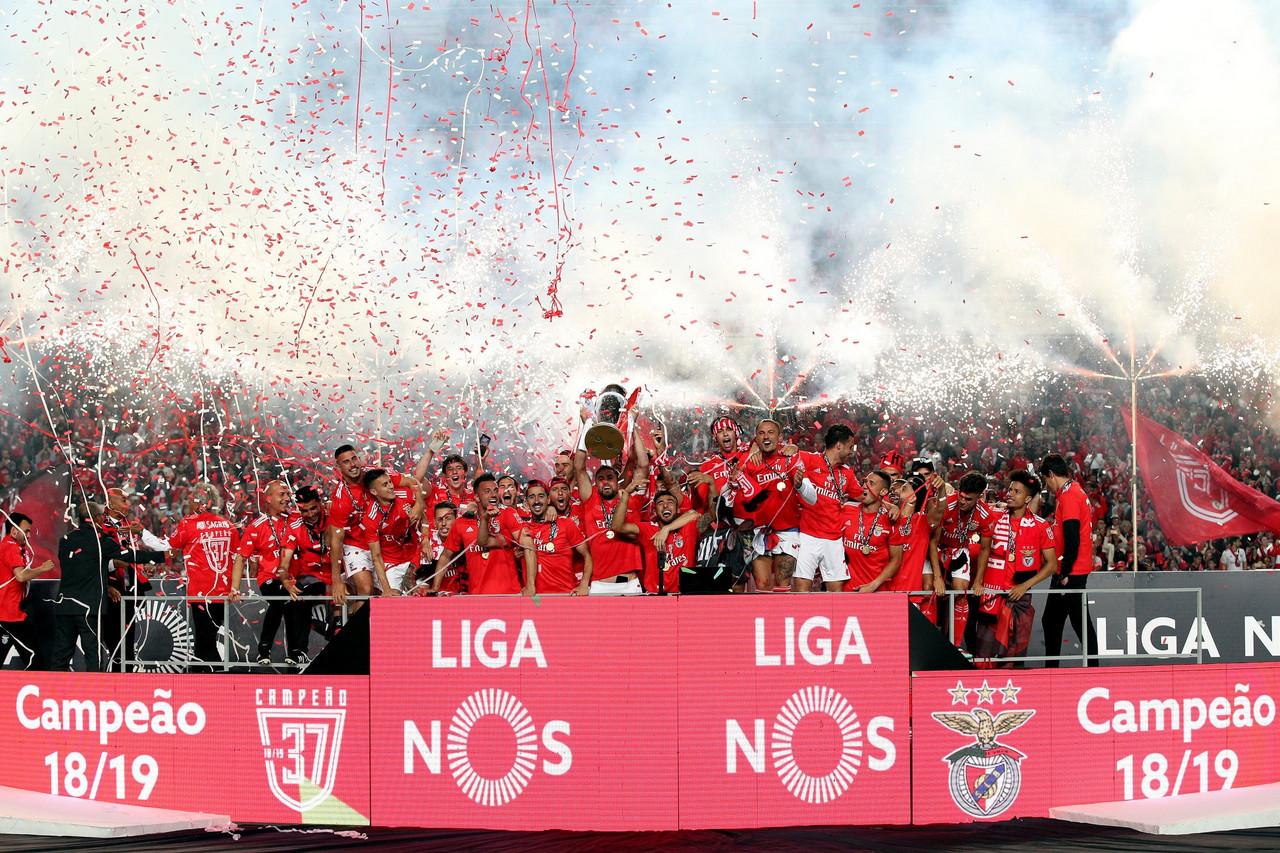 SL Benfica campeão nacional