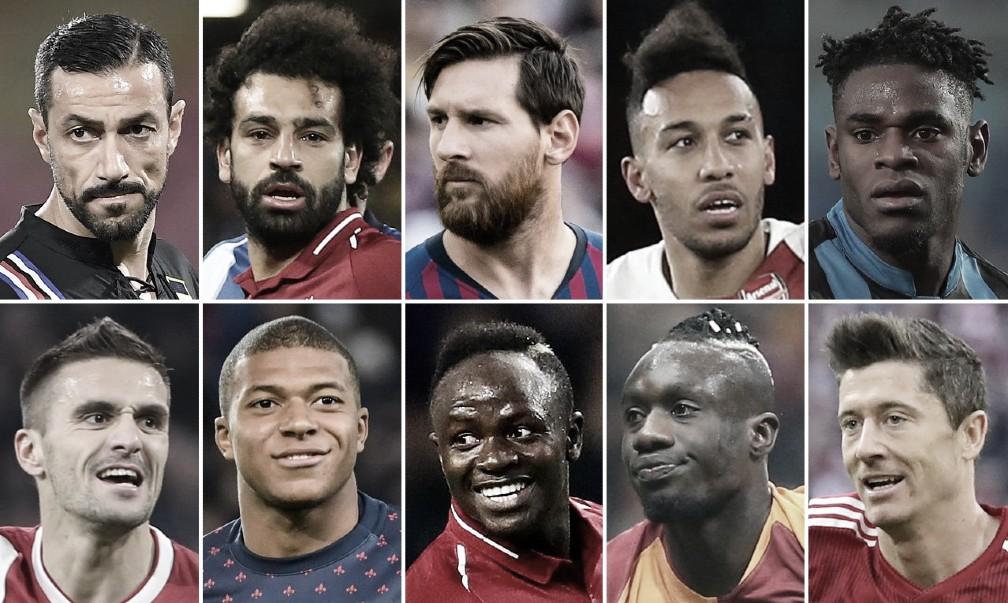 Top 12 artilheiros da Europa na temporada 2018-19; veja a lista liderada por Messi