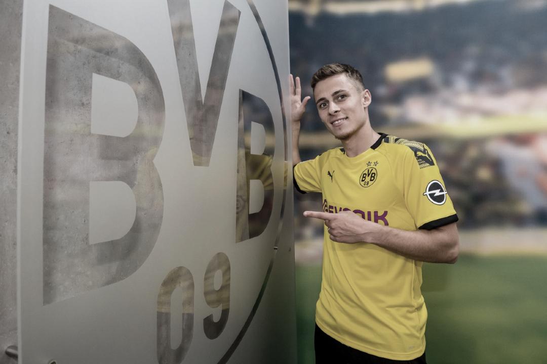 """Thorgan Hazard é oficializado pelo Dortmund: """"Orgulhoso de jogar pelo Borussia"""""""