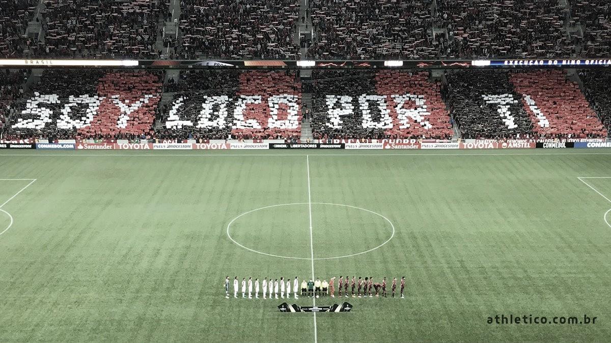 Em busca de seu segundo título internacional, Athletico-PR recebe o River Plate pela Recopa