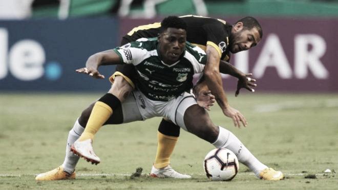 Deportivo Cali rescató un empate en casa ante Peñarol