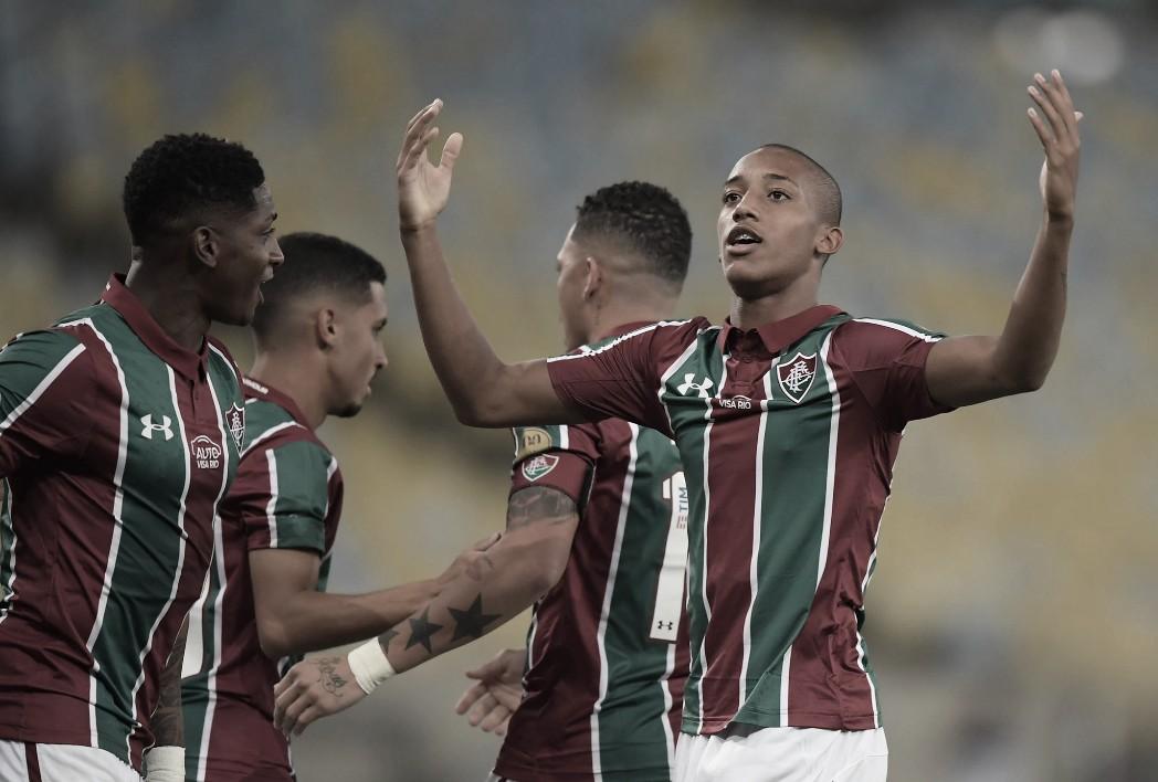 """João Pedro comemora atuação e hat-trick na Sul-Americana: """"Fruto de muito trabalho"""""""