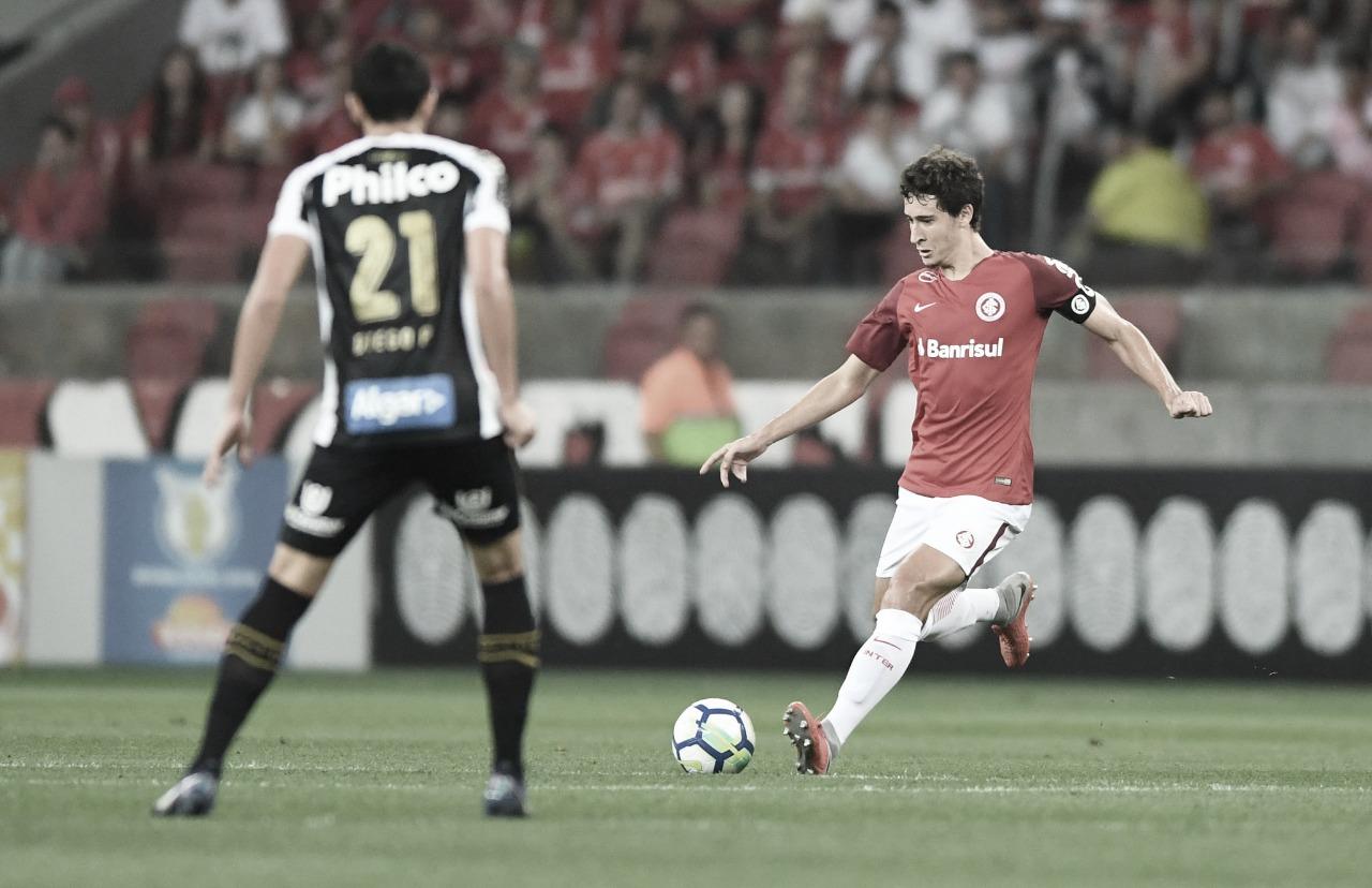 Resultado e lances importantes Santos x Internacional peloBrasileirão (0-0)