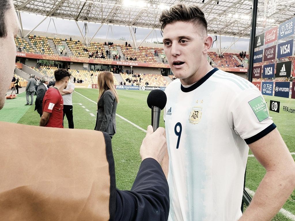 """Adolfo Gaich: """"Sabemos que por este camino vamos a hacer un gran Mundial"""""""