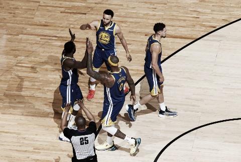 NBA: Warriors ganó en Toronto y empata 1-1 las Finales