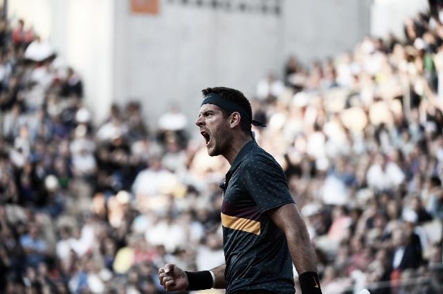 Fin de Roland Garros para Del Potro