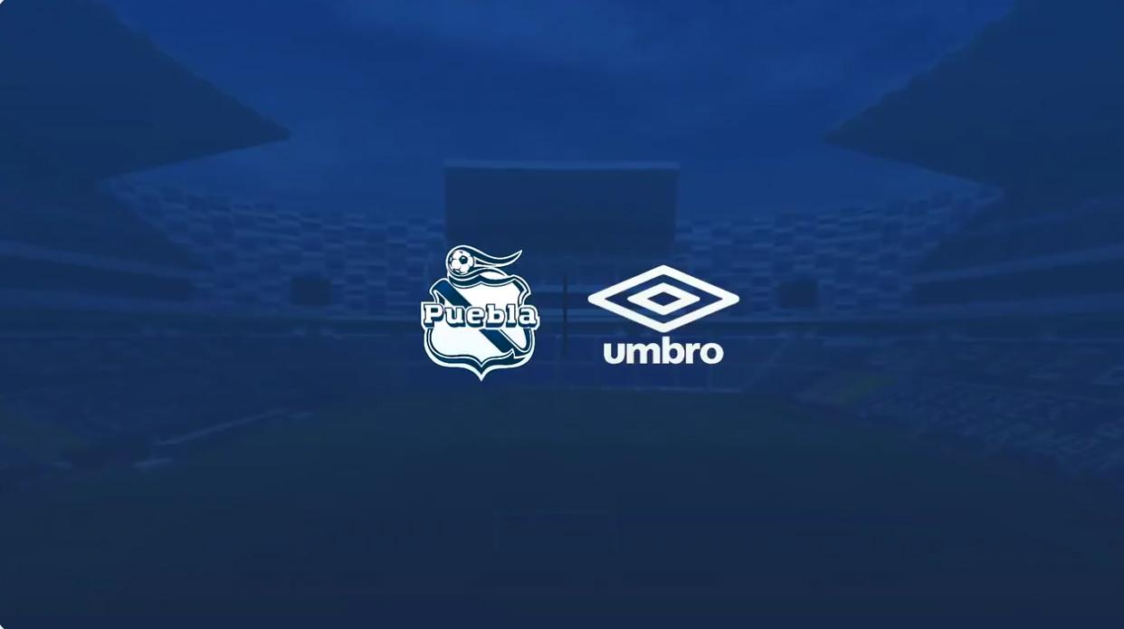 Puebla anuncia vínculo con Umbro