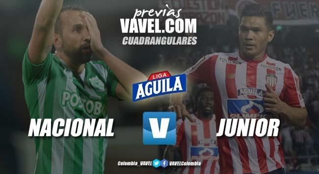 Previa Atlético Nacional vs Junior: Un partido de alto calibre, para no perderse