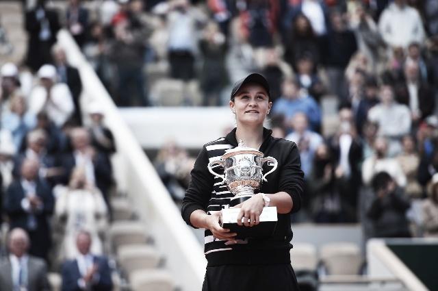 Ashleigh Barty se proclamó campeona de Roland Garros