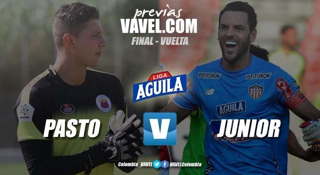 Previa Pasto vs Junior: ¿La segunda o el bicampeonato? Todo se define en Bogotá