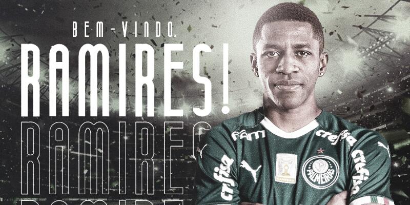 Palmeiras anuncia Ramires como novo reforço para a temporada