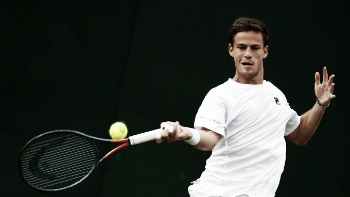 Schwartzman, el único argentino ganador del martes en Wimbledon