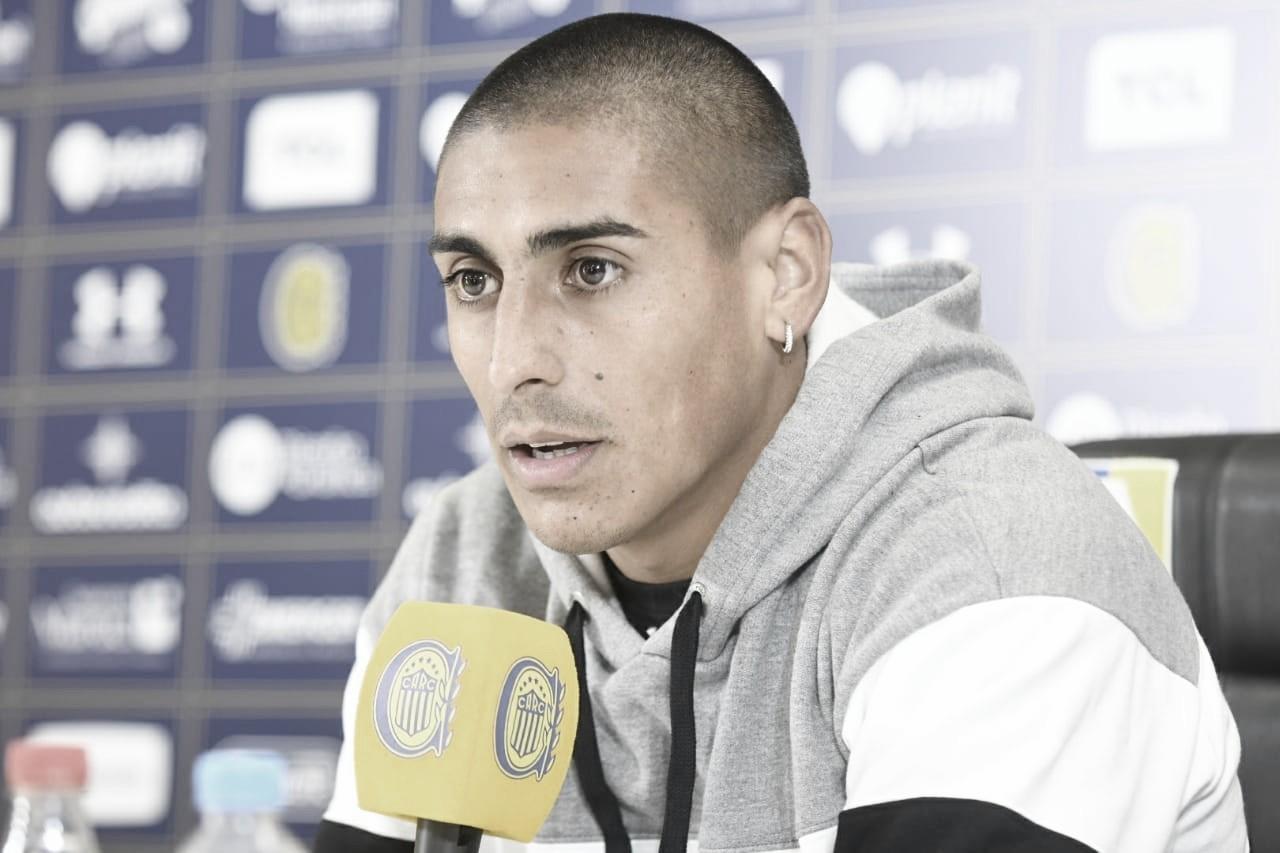 """Diego Zabala: """"Quiero mantener el nivel y seguir creciendo como futbolista"""""""