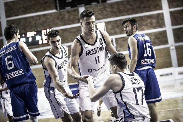 La Argentina U19 perdió e irá por el puesto 11° en el Mundial de Grecia