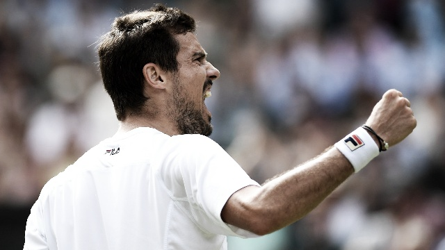 Guido Pella ganó en 5 sets y se metió en 4tos de Wimbledon