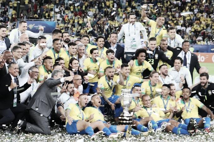 Brasil lidera ranking de finalizações e Peru de desarmes; veja estatísticas da Copa América