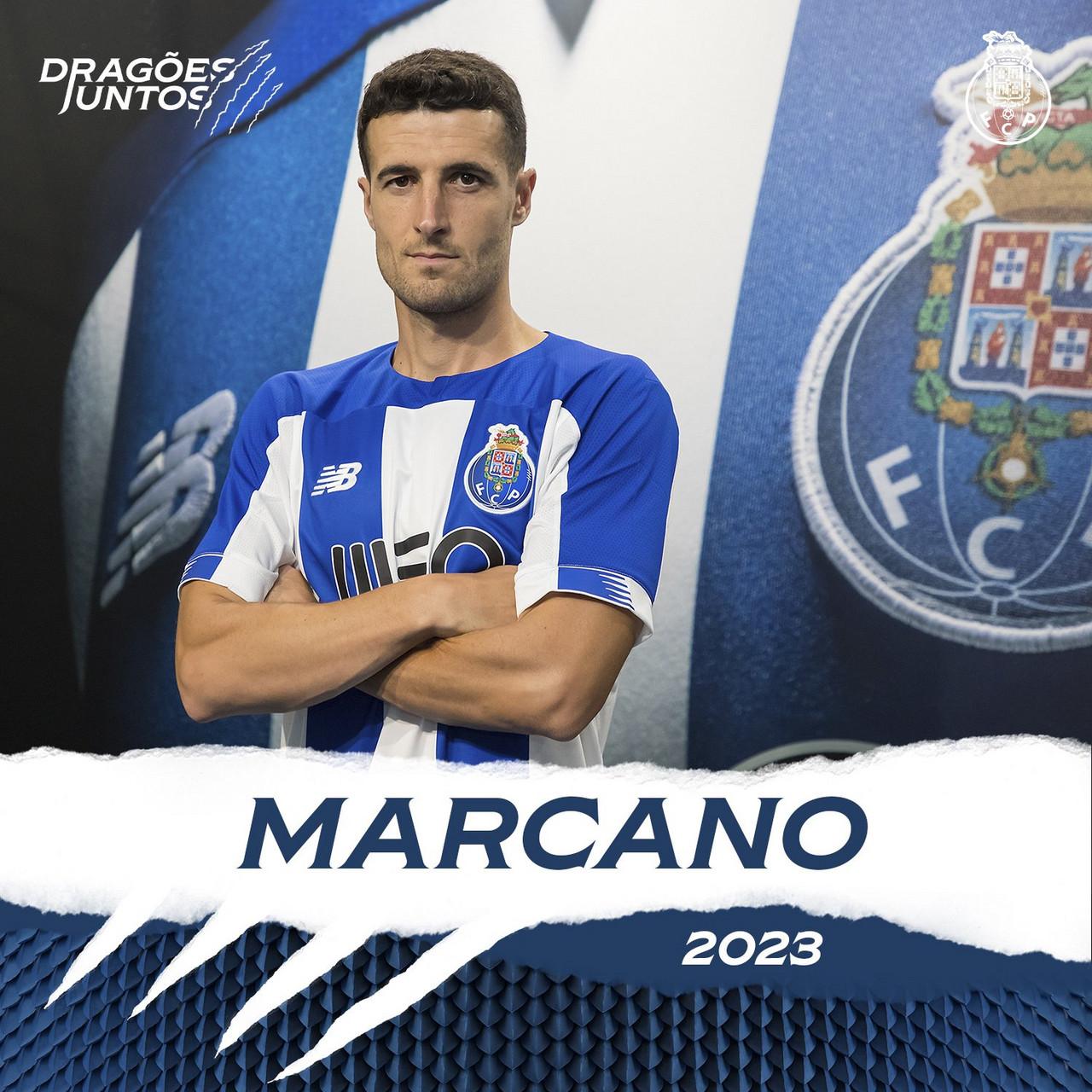 Marcano de regresso ao Porto