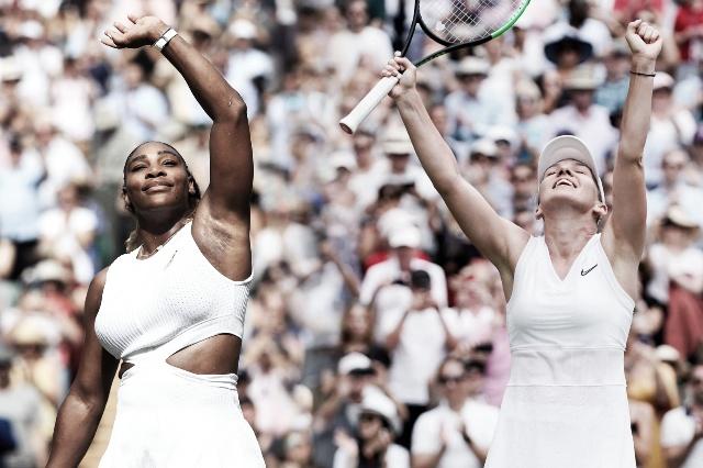Wimbledon: Serena Williams y Simona Halep son las finalistas