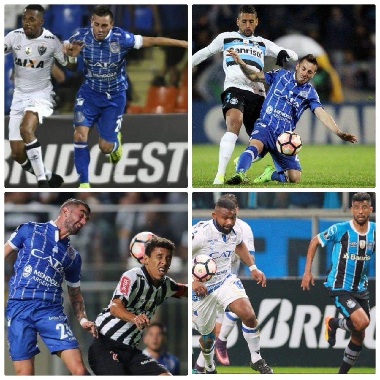 El historial de Godoy Cruz frente a equipos brasileños