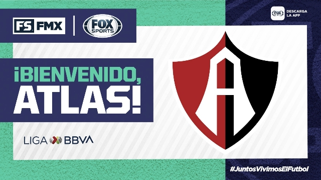Fox Sports transmitirá a Atlas