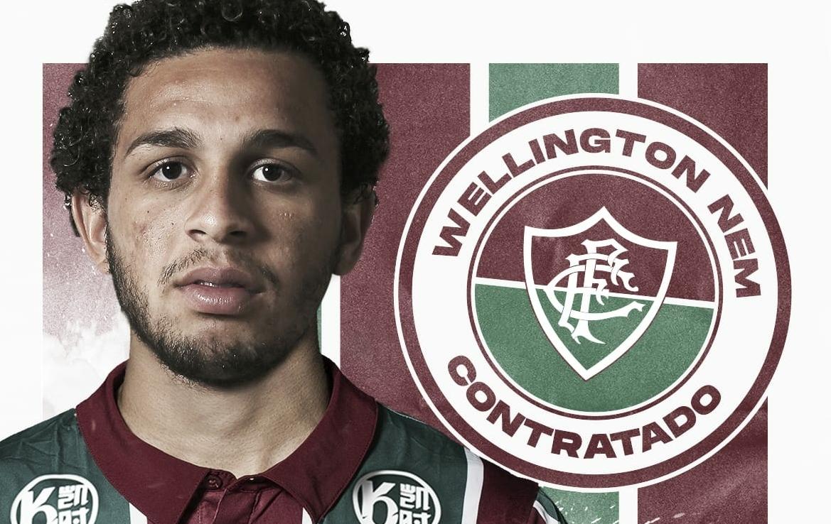 """Wellington Nem comemora retorno ao Fluminense: """"Felicidade imensa"""""""
