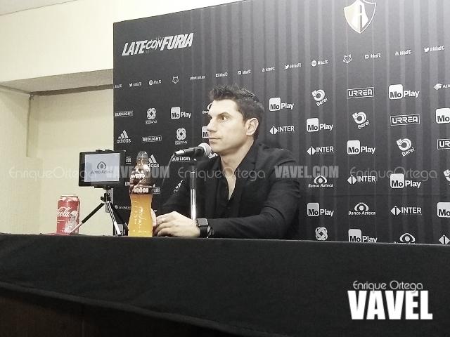Leandro Cufré no quiere que sus jugadores vean para el pasado