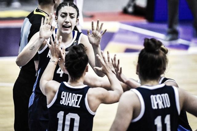 Mundial de Básquet Femenino U19: la Argentina debutó con triunfo