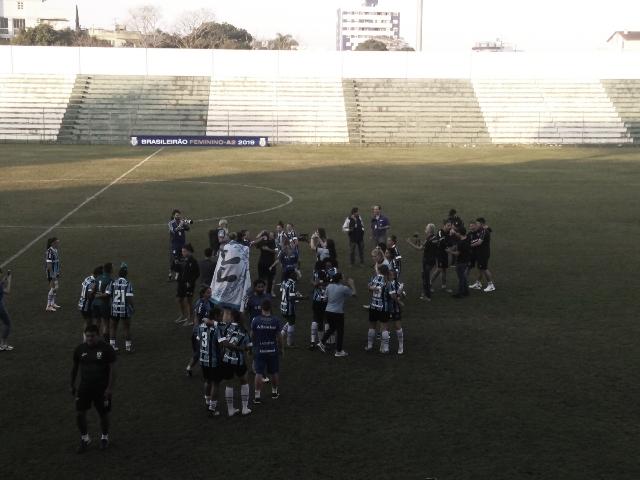 Grêmio passa pelo América-MG, se garante na semifinal da Série A-2 e sobe à elite