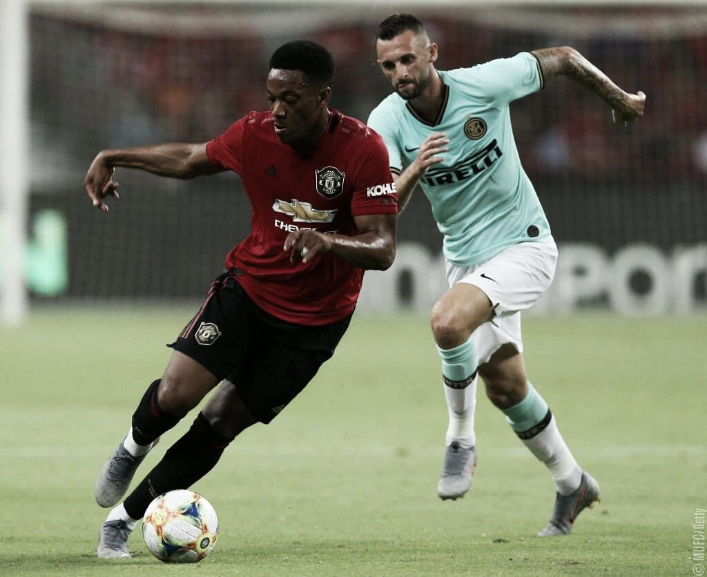 Em torneio amistoso, Manchester United bate a Inter de Milão