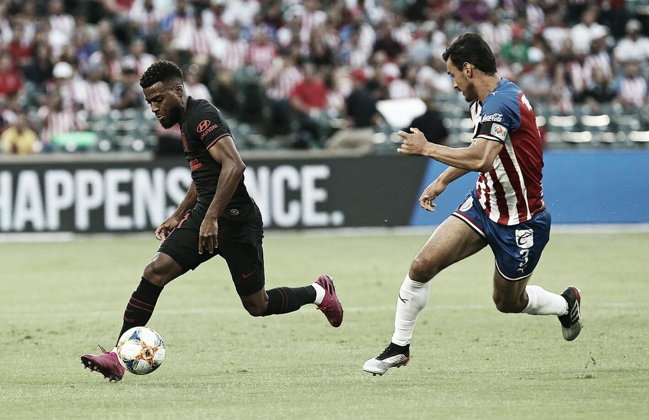 En penales, Chivas cae ante Atlético de Madrid