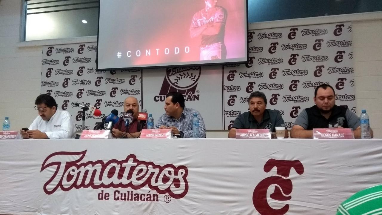 Tomateros anuncia cambios y nuevo refuerzo