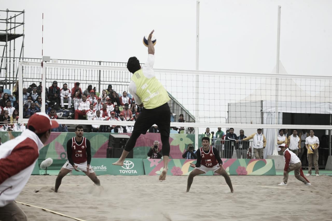 México lo intentó, pero Chile se quedó con la de oro en el voleibol varonil