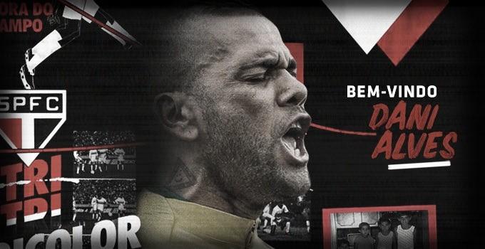 É do Tricolor! São Paulo oficializa contratação de Daniel Alves