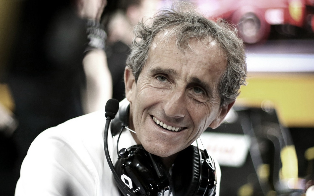 Similar ao que Lauda era na Mercedes, Alain Prost agora é diretor na Renault