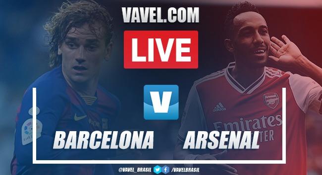 Gols e melhores momentos Barcelona 2x1 Arsenal pelo Torneio Joan Gamper